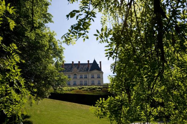 Ch'teau de Saran - extÈrieur et parc