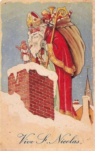 sinterklaas, Frankrijk, kerst