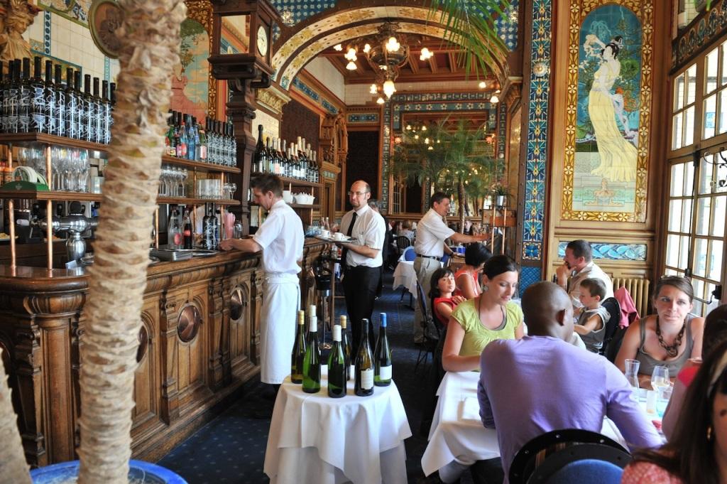 Restaurant La Cigale. Nantes (Loire-Atlantique) © Jean-Dominique Billaud - Nautilus/LVAN.