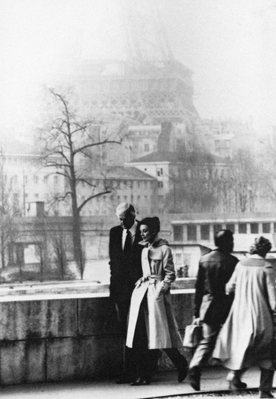 Hubert De Givenchy And Audrey Hepburn In Paris In 1982