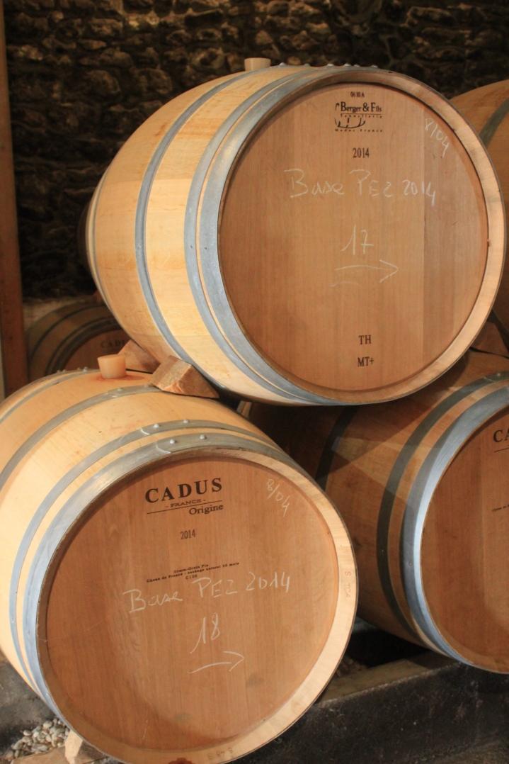 Houten wijn vat