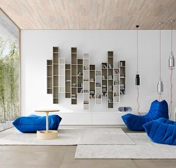 Ligne-Roset-Togo-sofa-new-velvet-jacquard-fabric