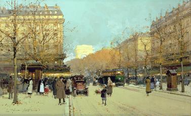 boulevard-haussmann-in-paris-eugene-galien-laloue