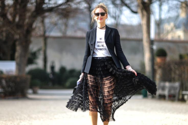 Christian Dior : Outside Arrivals - Paris Fashion Week - Haute Couture Spring Summer 2017