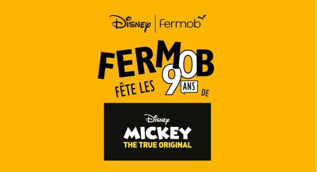 Fermob Viert 90ste Verjaardag Mickey Mouse Van Franse Bodem