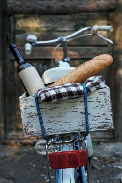 fiets bakje