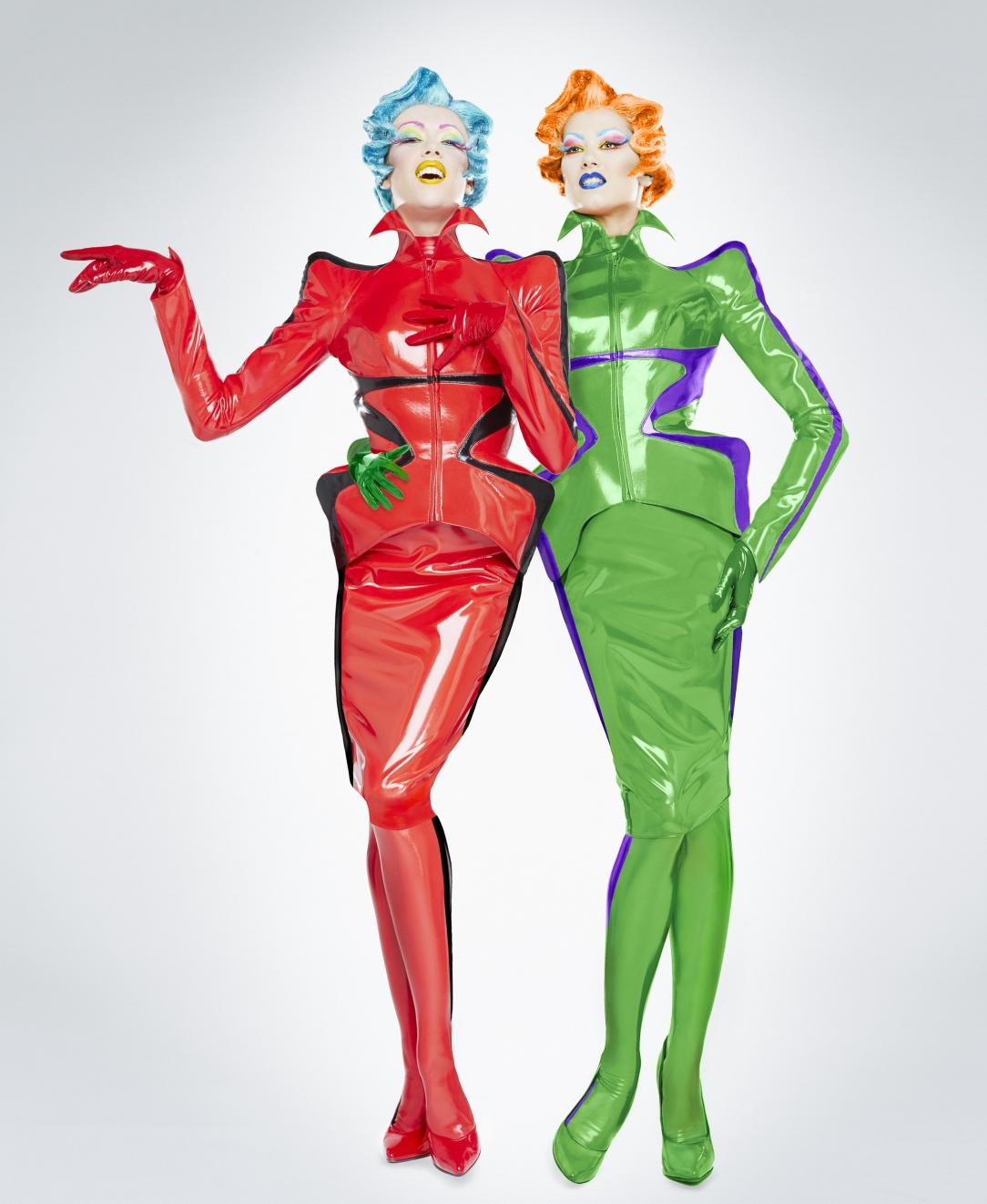 4. Christian Gautier, stage costumes for the show Mugler Follies, 2013. Photo Christian Gautier, Manfred Mugler. Outfits Thierry Mugler..jpg