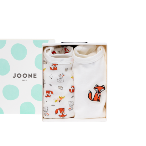 JOONE Paris romper set Bernard met box €49,90